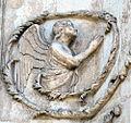 Lorenzo maitani e aiuti, scene bibliche 3 (1320-30) 10 angelo 1.jpg