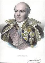 Marshal Davout in fancy uniform