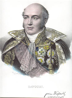 Louis-Nicolas Davout Marshal of France