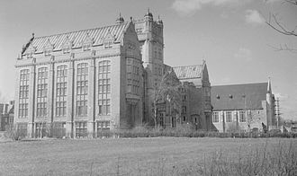 Concordia University - Loyola College in 1937.