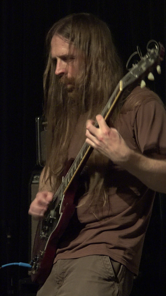 Mick Barr - Mick Barr at the Stone in 2015