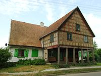 Lubieszewo, mennonitský dům.JPG