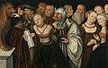 Lucas Cranach d. Ä. (mit Hans oder Lucas d. J.) - Der Mund der Wahrheit - 1461 - Bavarian State Painting Collections.jpg