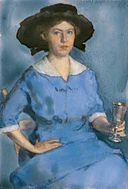 Lucy May Stanton, Self-portrait, 1912, National Portrait Gallery.jpg