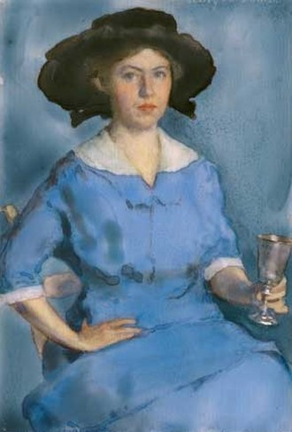 Lucy May Stanton - Self-portrait, 1912, National Portrait Gallery