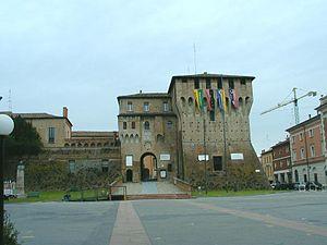 Lugo, Emilia-Romagna - The Este Castle.