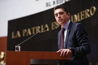 Luis Fernando Salazar Fernández - Salazar in 2016