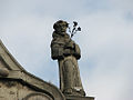 Lviv - Bernardyny - Sculpture of the saint.jpg