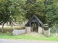 Lych Gate - View from B1200 - geograph.org.uk - 1498341.jpg