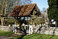 Lychgate of St Mary's Church, Great Canfield, Essex 02.jpg