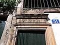 Lyon 4e - Rue Joséphin Soulary, haut de porte au numéro 31.jpg