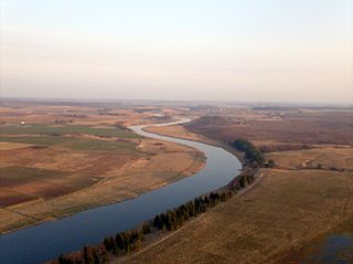 Река Муша в Пасвальском районе