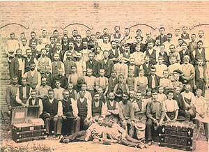 Martin Mathias Secor - Employees of the M. M. Secor Trunk Company, ca. 1885-1890