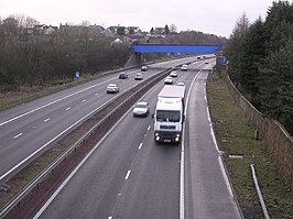 M73 plus Blue Railway Bridge - geograph.org.uk - 127406.jpg