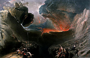 The Day of the Lord - The End of the World, also known as The Great Day of His Wrath by John Martin.