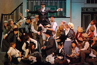 Amateur theatre - Beeston Musical Theatre Group performing My Fair Lady in Nottingham, England, 2011