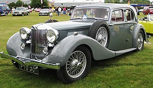MG Cars - MG WA 2.6-litre sports saloon 1939