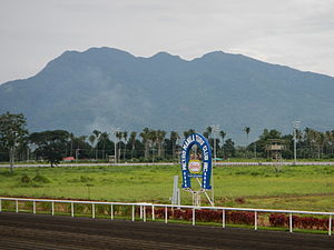 Mount Makiling - Mount Makiling viewed from SSW in Malvar, Batangas.