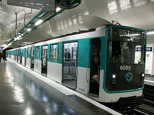 Paris Métro Line 11 - A MP 59-trainset