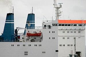 MV Faina - Image: MV Faina pirates on board