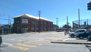 San Jose and Geneva station - M Ocean View terminus