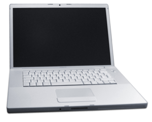 An Apple MacBook Pro. Derived from this photog...