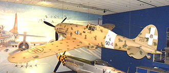 Macchi C.202 - A C.202 on display at the Smithsonian Air & Space Museum, Washington D.C.