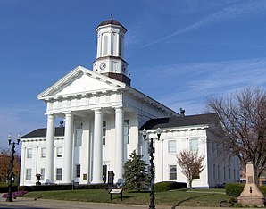 Das Madison County Courthouse in Richmond, gelistet im NRHP Nr. 75000800[1]