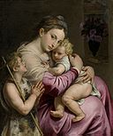 Madonna and Child with St. John by Agostino Carracci.jpg