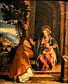 Madonna col Bambino e santo Vescovo, Battista Dossi e Dosso Dossi 001.JPG