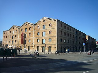 History museum in Plaça de Pau Vila, Barcelona