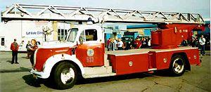 Magirus - Image: Magirus Fire Engine 1961 2
