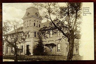 Carlisle Military School - Image: Main Building on Carlisle