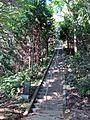 Main approach to Sakamine-jinja shrine in Haramachi ward 1.JPG