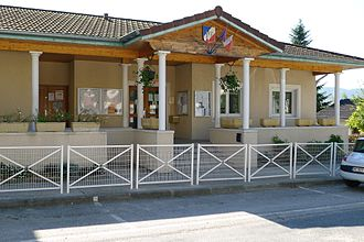 Auberives-en-Royans - The Town Hall