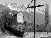 La maison de Rilke à Veyras (Valais) (1967)