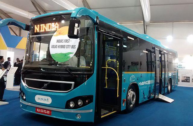 NMMT's Volvo Hybrid Bus.