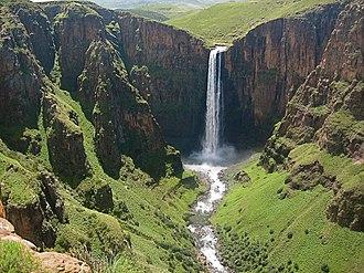 Maletsunyane Falls - Image: Maletsunyanefalls