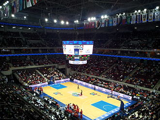 2013 FIBA Asia Championship - First-round game between Iran and China