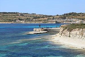 Raid of Żejtun - Image: Malta Marsaskala Triq il Qalet + Secca il Munxar 03 ies