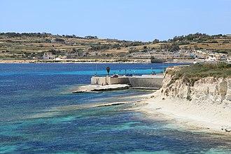 Raid on Żejtun - Image: Malta Marsaskala Triq il Qalet + Secca il Munxar 03 ies