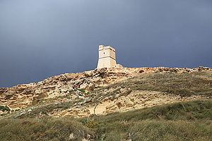Ġnejna Bay - Lippija Tower