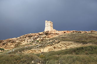 Giovanni Paolo Lascaris - Lippija Tower, the first of the Lascaris towers