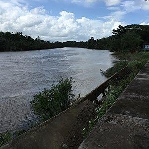 Kraburi River - Kraburi River at Mamu, Kra Buri District, Ranong