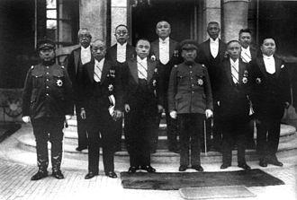 Politics of Manchukuo - Image: Manchukuo politician