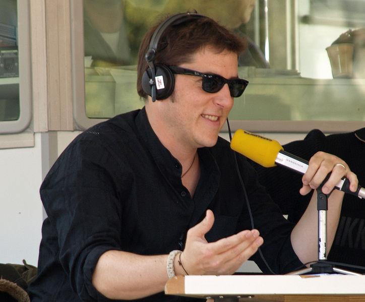 Manel Fuentes, presentador de televisión