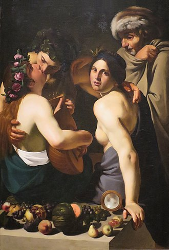 Dayton Art Institute - Image: Manfredi, Bartolomeo Allegory of the Four Seasons c. 1610