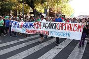 2011 Madrid göstericiler