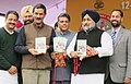 """Manish Tewari releasing a book titled """"Campus To Community"""", at the inaugural function of the 18th National Youth Festival, at Ludhiana, Punjab. The Minister of State (Independent Charge) for Youth Affairs & Sports.jpg"""