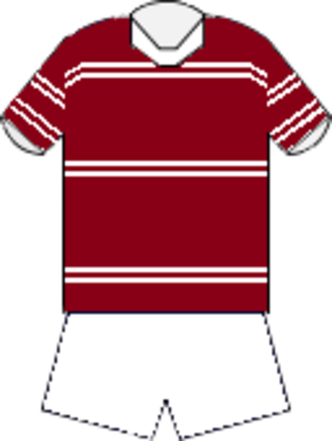 1972 NSWRFL season - Image: Manly home jersey 1972